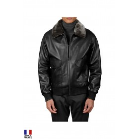 Blouson aviateur French