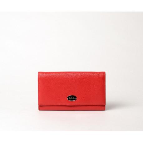 Gondole Buni portefeuille compagnon rouge fraise