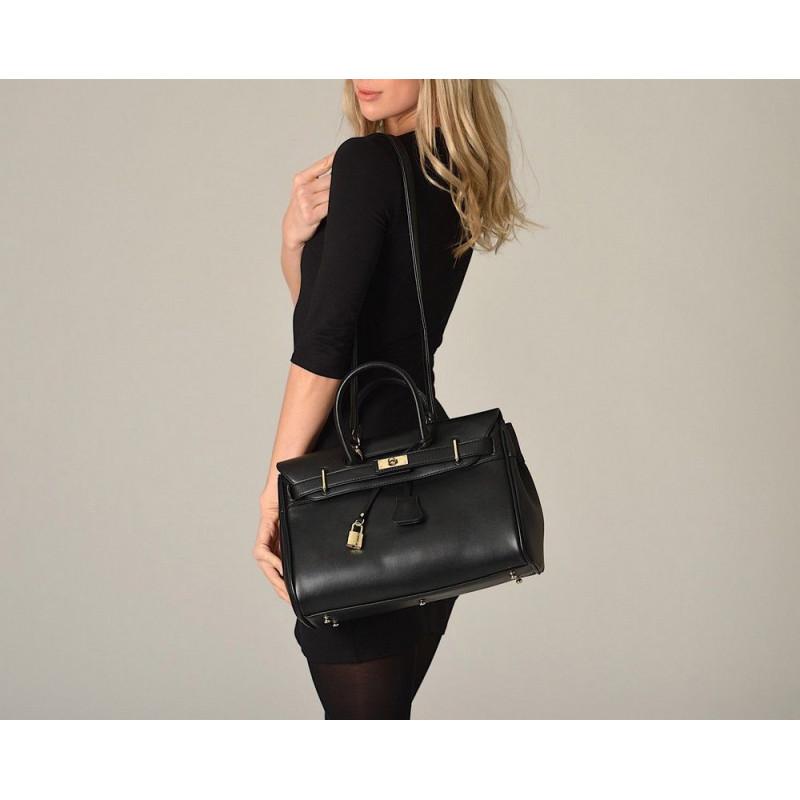 Pyla Meryl petit sac à main noir