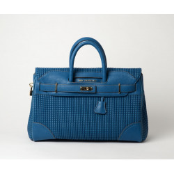 Pyla Bryan grand sac à main bleu lagon