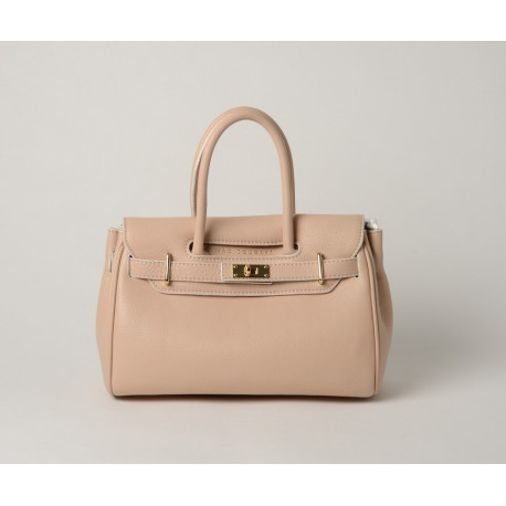 Pyla Romy mini sac à main rose nude