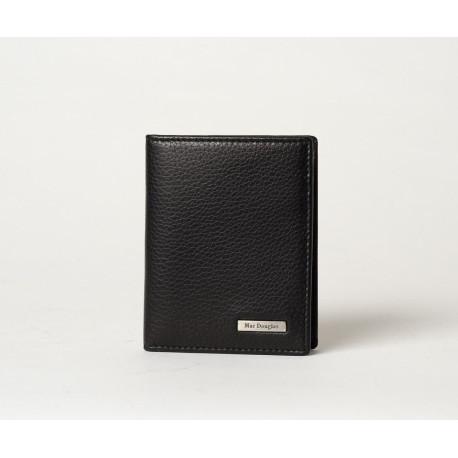 Rayon Spencer, porte-cartes cuir noir