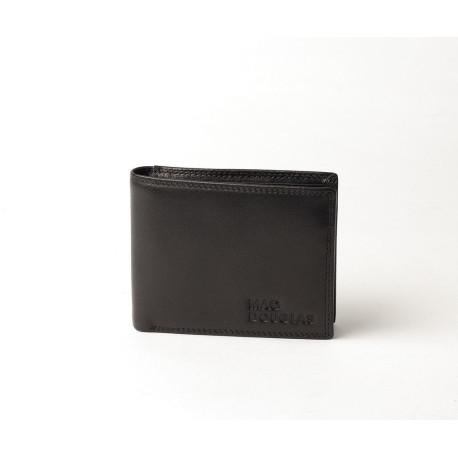Equinox Stone, porte cartes cuir noir
