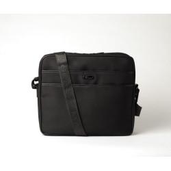 EBALTA TOM, sacs bandoulière souple noir