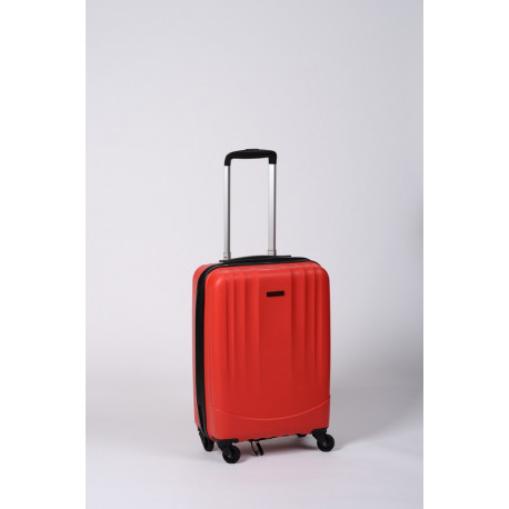 Timbo Travel S, valise cabine de voyage ou weekend rouge