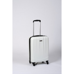 Timbo Travel S, valise cabine de voyage ou weekend blanche