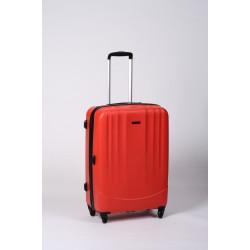 Timbo Travel M, valise moyenne rouge