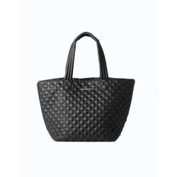 Marrakech Miami, sac cabas matelassé noir