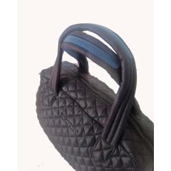 Madson Miami, sac bowling matelassé noir