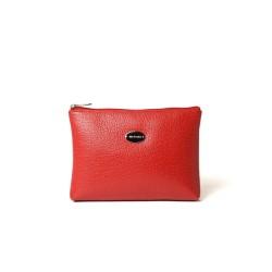 Limace Buni, pochette plate rouge fraise