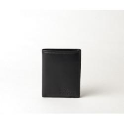 Elmer Stone, portefeuille cuir noir