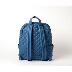 Manchester Miami, sac à dos matelassé bleu jean