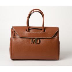Nyla MD, grand sac porté main châtaigne