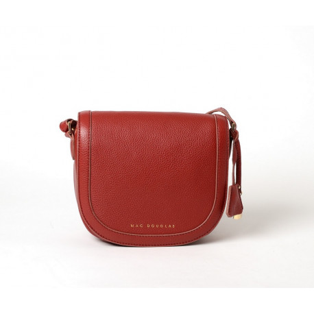 Norland Romy, sac porté travers rouge griotte