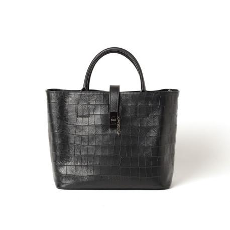Macerata Leonie, sac cabas noir