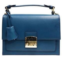 Joyau Leon, sac à main bleu jean
