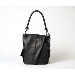 MEGALO VESUVIO, petit sac seau noir