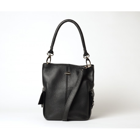 Megalo Vesuvio petit sac seau noir