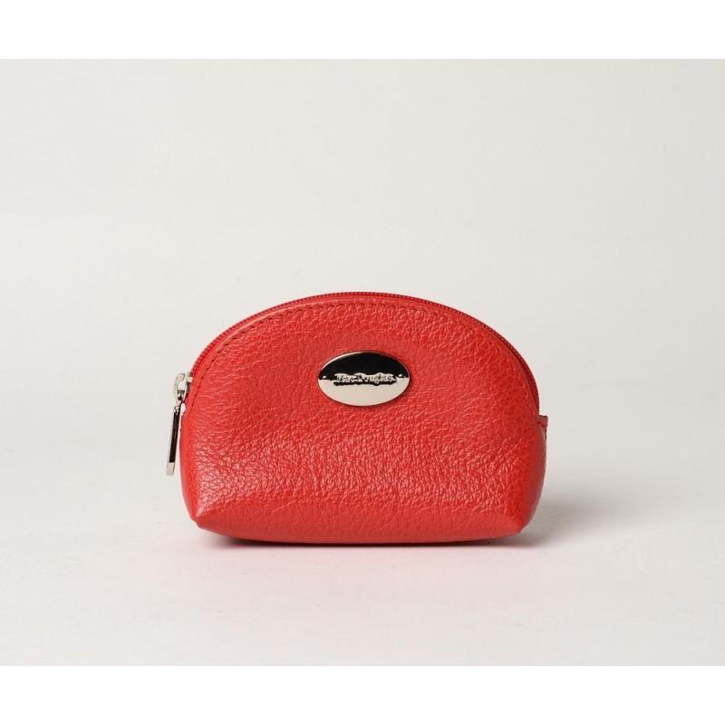 Coco Buni porte monnaie zippé rouge fraise