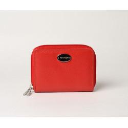 Cutter Buni, porte-monnaie zippé rouge fraise