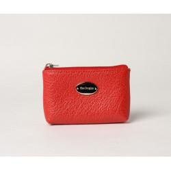 LIMACE BUNI, petit porte-monnaie zippé rouge fraise