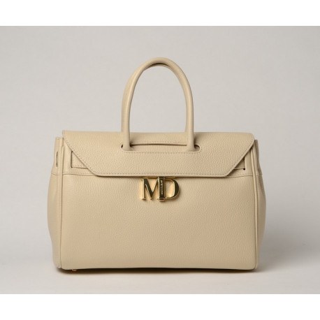 NYLA MD, grand sac porté main ivoire