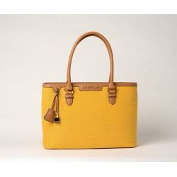 LAURENE FANTASIA, sac cabas tournesol