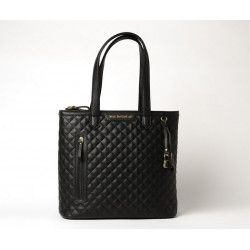 PALAISEAU LOSANGE, sac cabas noir