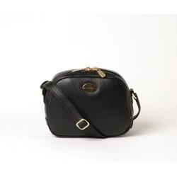 PERLITA PROCIDA, petit sac bandoulière noir