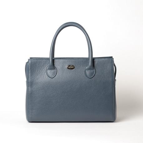 PALERMO BUNI, sac à main bleu minéral