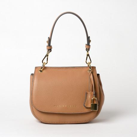GARANCE ROMY,petit sac besace havane