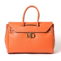 NYLA MD, grand sac porté main nectarine
