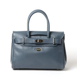 PYLA BUNI, petit sac à main bleu mineral