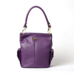 MEGALO PROCIDA, petit sac seau violet