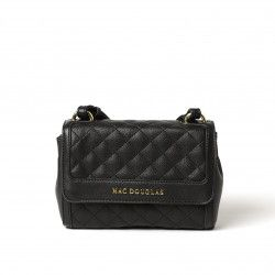 PHILO LOSANGE, mini sac bandoulière noir mat
