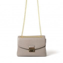 ROSSINI PROCIDA, petit sac porté épaule gris