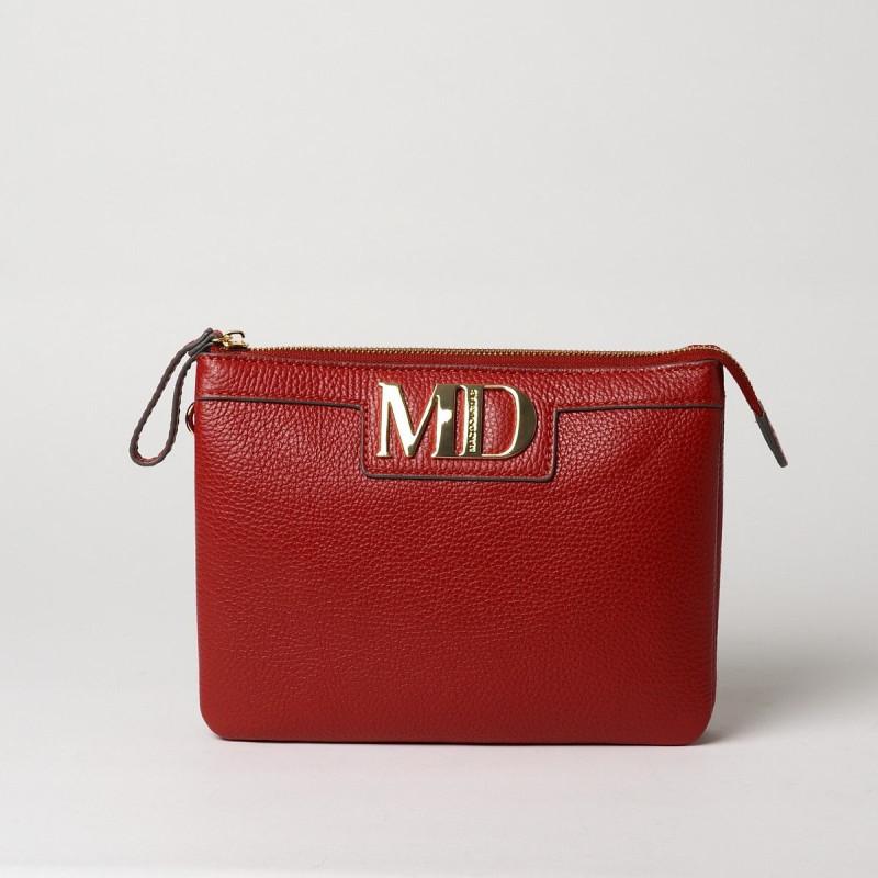 RUSKY MD, sac pochette carmin