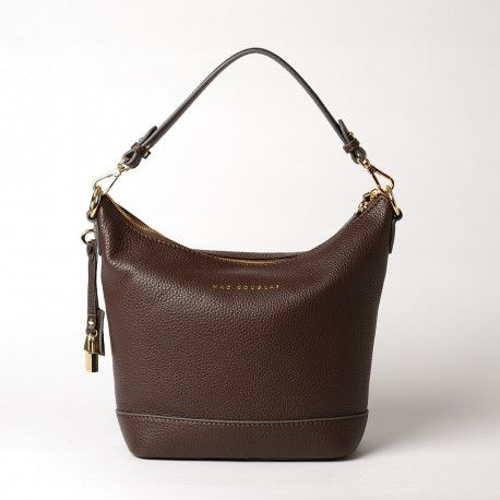 NAEVA ROMY, sac porté épaule moka