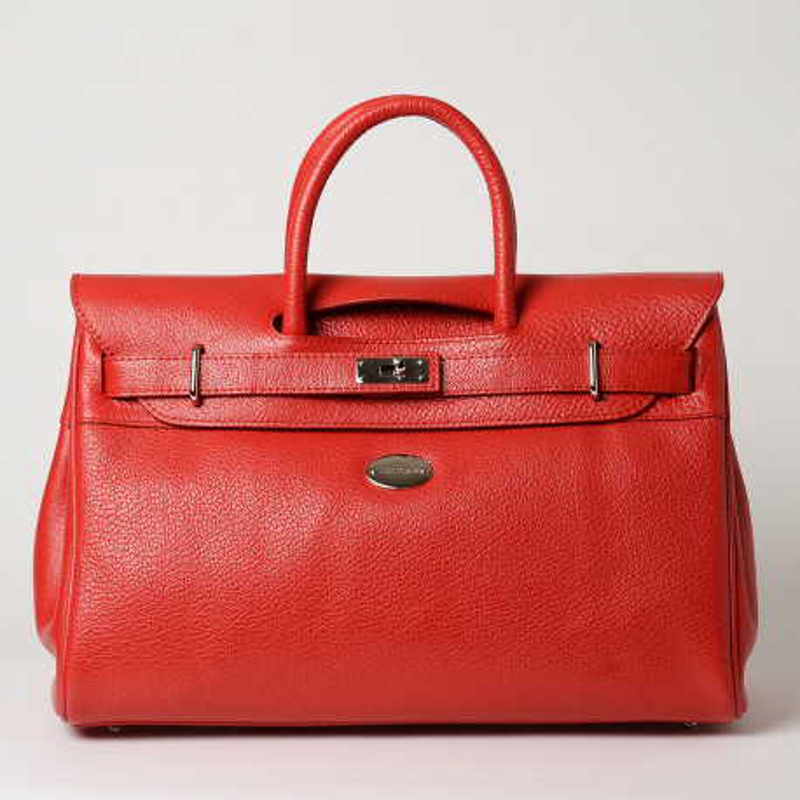 Pyla Buni grand sac à main rouge fraise