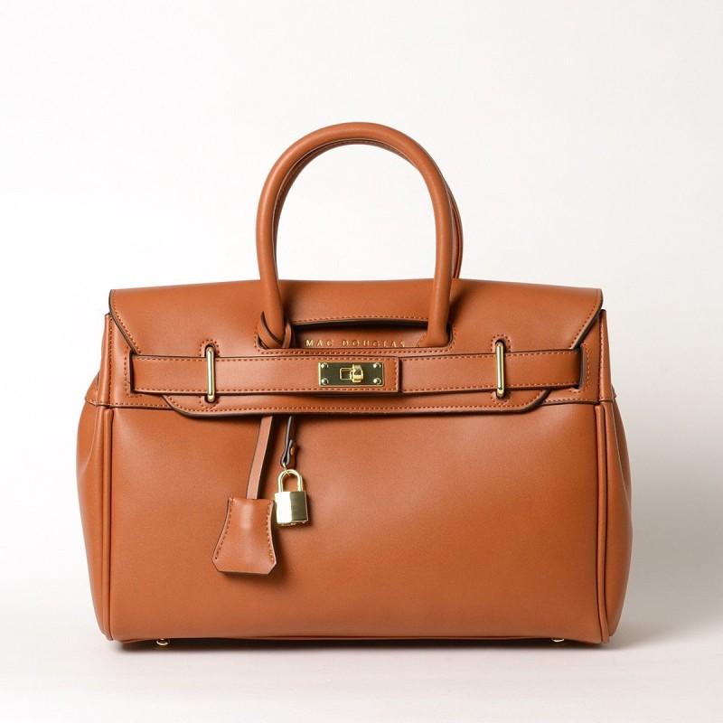 Pyla Meryl petit sac à main châtain