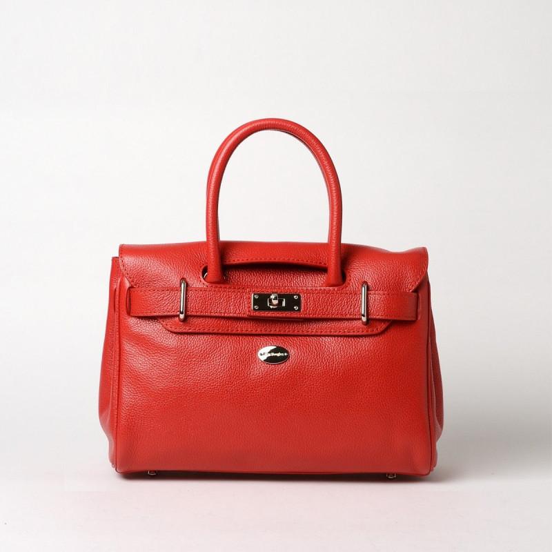 PYLA BUNI, mini sac à main rouge fraise